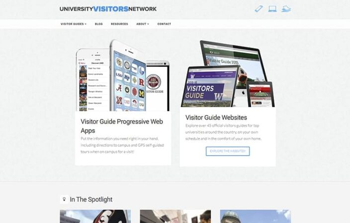 University Visitors Network